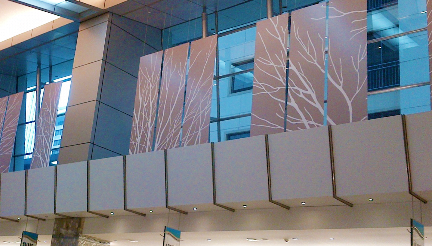 Advanced Display Systems | Suspended Art Installation