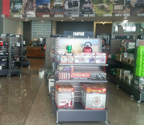Advanced Display Systems | 4wd Shop Fit Out