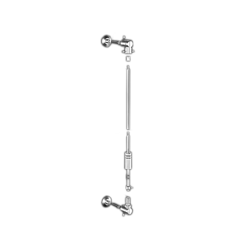 Advanced Display Systems   Wall Mounted Swivel Kit with Plates