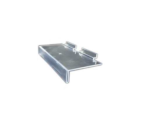 Advanced Display Systems | Flat Shelf with Ticketing Lip