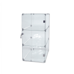 Glass Rectangle Cube Unit