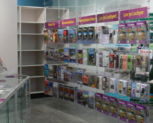 Advanced Display Systems | Suspended Brochure System