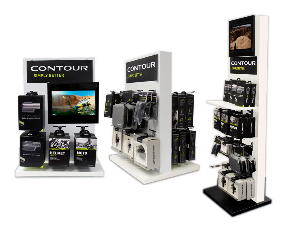 Advanced Display Systems | Branded Merchandise Stand