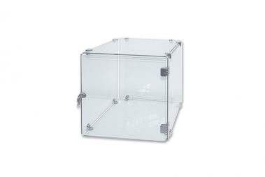 Glass Cube Unit Connector | 3 Way Glass Connector