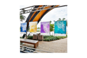 Advanced Display Systems | Suspended Signage
