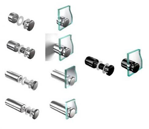 Aluminium-wall-mount-sign-holders