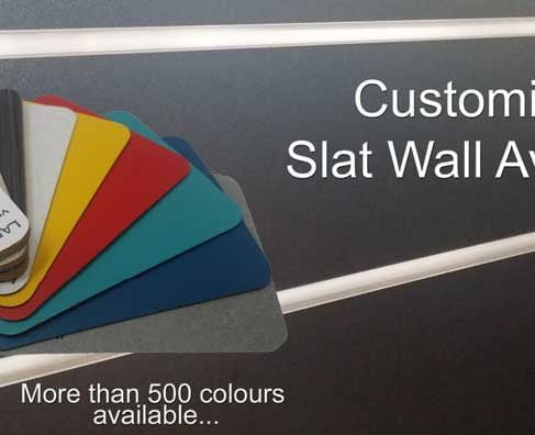 Advanced Display Systems | Slat Wall Panels