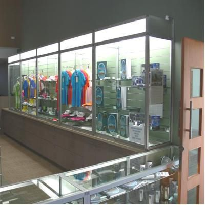 Advanced Display Systems | Glass Showcase Australian Made