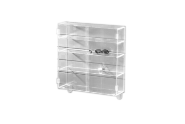 Advanced Display Systems | Slat Wall Display Case