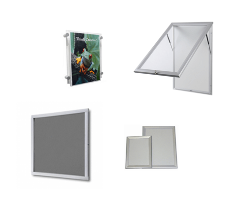 Advanced Display Systems Noticeboards Poster Holder