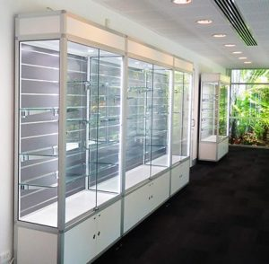 storage showcases