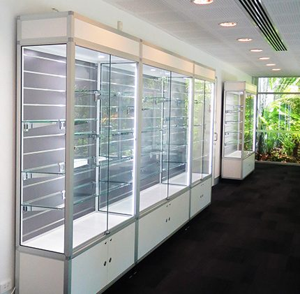 storage showcases